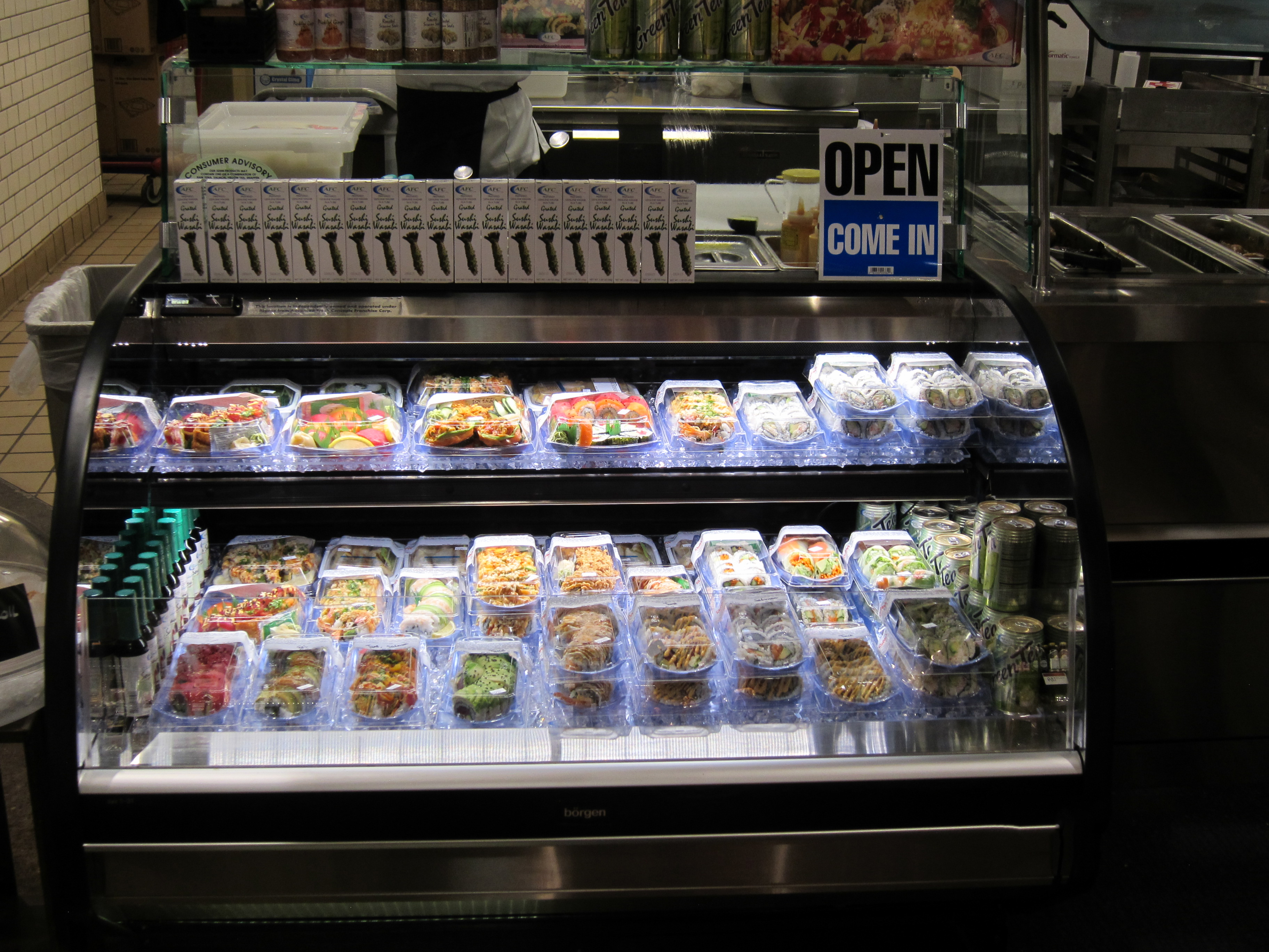 Colorado Air Quality >> Supermarket Sushi Display Case - Borgen Systems